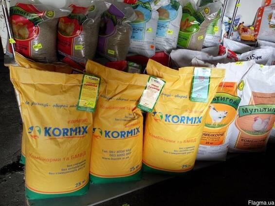 Комбикорм для бройлеров Рост тм Kormix
