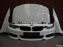 BMW 4 F36 2014- ГОД бампер передний туманка решотка