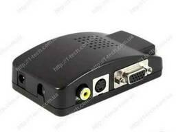 BNC, RCA или S-Video в VGA - конвертер FLY7503