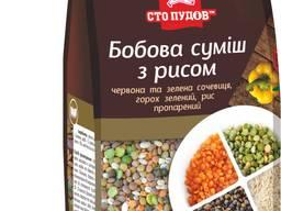 Бобовая смесь с рисом!!!