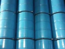 Бочка цилиндрическая пищевая голубая 200 л. 1 сорт