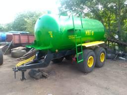 Бочка на колесах для воды МЖТ 8 (ржт)