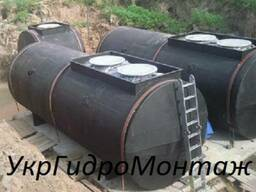 Бочки, резервуары для хранения топлива, доставка вся Украина