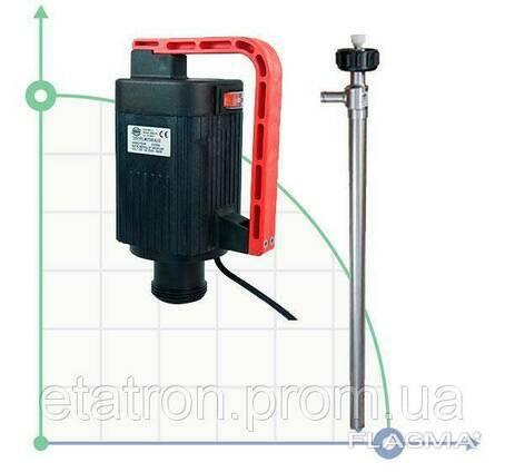 Бочковий електричний насос TR AISI 316 з валом INOX 1200 мм