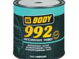 BODY 992 антикоррозионный грунт серый 1 кг.