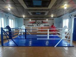 Боксерский ринг напольный и на помосте