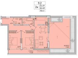 Большая терраса две комнаты Аркадия.