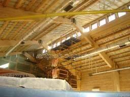 Большепролетные клееные деревянные конструкции