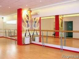 Зеркало в танцевальную студию тренажерный зал Киев