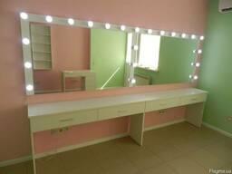Большое зеркало с подсветкой Aurum