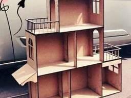 Большой домик для кукол Барби. Кукольный домик. Домик для Ба