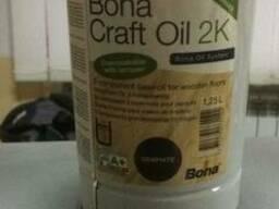 Bona Craft Oil 2k, 2комп. масло для паркета. 1.25л