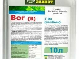 Бор Молібден від виробника!Бор(B)=168г/л; Молібден (Mo)=5г/л