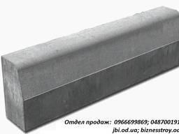 Бордюр дорожный серый 750*300*150