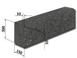 Бордюр гранитный ГП-1, 30х15 см с фаской 1 см
