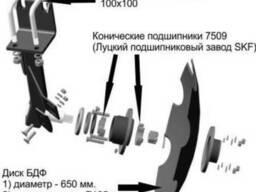 Борона дисковая прицепная БДФП-2, 4 , борона дисковая прицепн