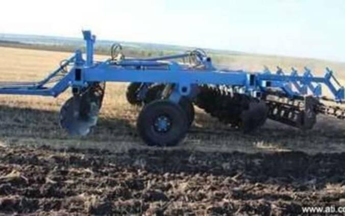 Борона дисковая с катком для тракторов от 80 до 350 л.с.