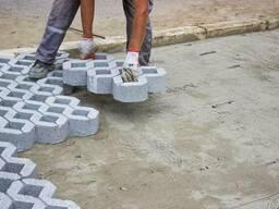 Борт, тротуарный камень, плитка тротуаная