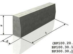 Бортовые камни и бордюры, Длина (L), мм1000, купить