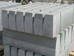 Борты и бордюры бетонные БР 300. 60. 20, гост, купить