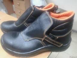 Ботинки для сварщика с металлическим носком - фото 1