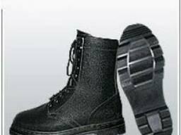 Ботинки гвоздевые юфть кирза