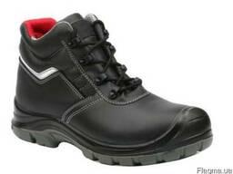 Ботинки из гладкой кожи с защитным композитным подноском