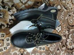 Ботинки из натуральной кожи, двойная пу подошва jusper s3 sr - фото 2