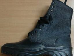 Ботинки комбинированые