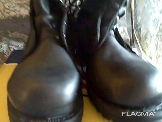Ботинки кожаные армейские берцы belleville icw (бц - 021) 5