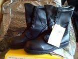 Ботинки кожаные армейские берцы belleville icw (бц - 021) 5 - фото 3