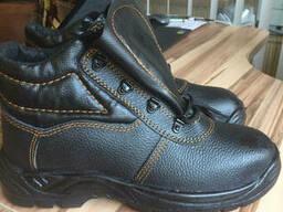 Ботинки кожаные на меху
