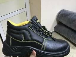 Ботинки кожаные с мет подноском