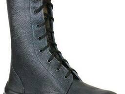 Ботинки кожаные с завышеными берцами Секьюрити, мужские.
