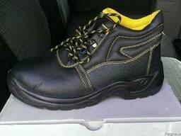 Ботинки рабочие кожа, обувь рабочая Польша