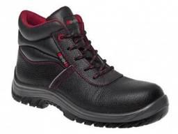 Ботинки рабочие кожаные на ПУ подошве отличного качества