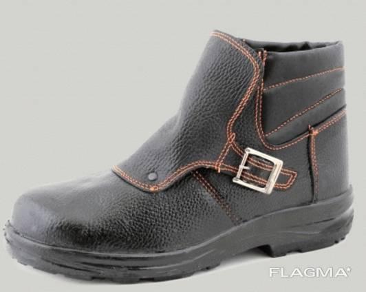 Ботинки рабочие кожаные Велдер-Гума