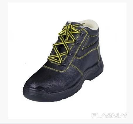 Ботинки рабочие кожаные зимние