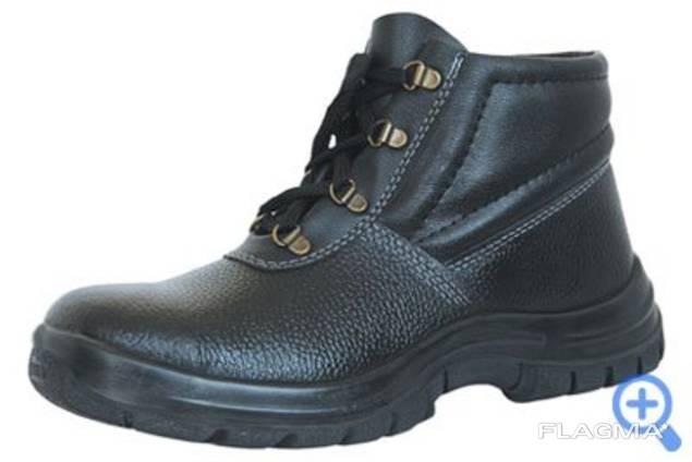 """Ботинки рабочие """"Лидер"""" демисезонные, кожа юфть"""