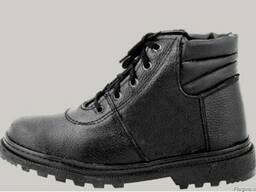 Ботинки рабочие материал юфть клее-прошивной метод крепления