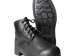 Ботинки рабочие, подошва на гвоздях, на шнурках - фото 1