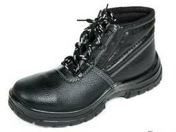 Ботинки рабочие Профиметаллическим подноском Верх обуви: