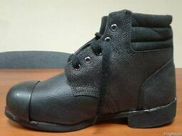 Ботинки рабочие с металлическим носком, наружным