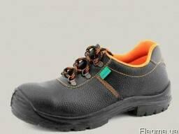 Ботинки рабочие с металлическим носком (туфли рабочие)