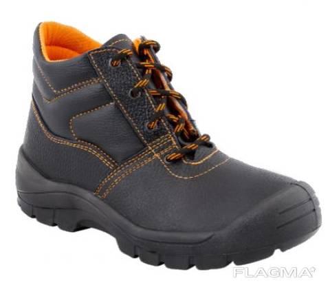 Ботинки рабочие кожаные утепленные подошва полиуретан