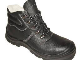 Кожаные утепленные ботинки Стронг