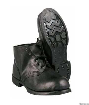 Ботинки рабочие, утепленные, юфть-кирза, гвоздевые