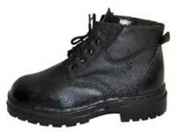 Ботинки рабочие юфть-кирза