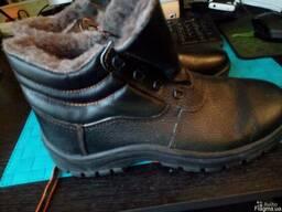 Ботинки рабочие зимние утепленные