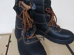 Ботинки рабочие зимние утепленные рабочие берцы мет носок S3